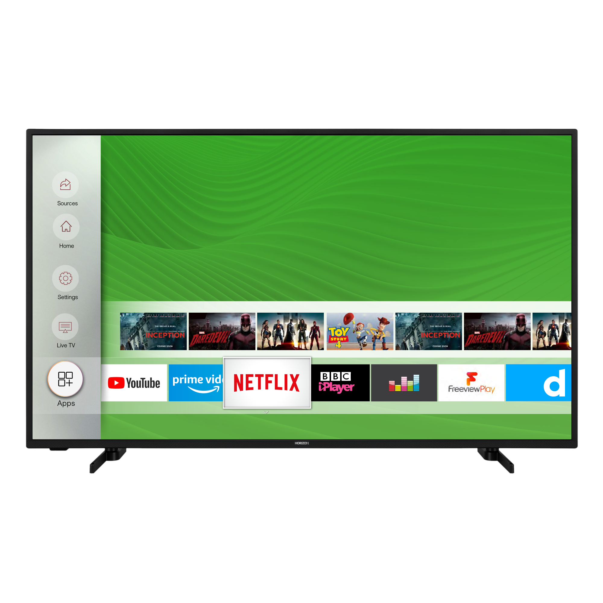 Televizor Horizon 50HL7530U, 126 cm, Smart, 4K Ultra HD, LED