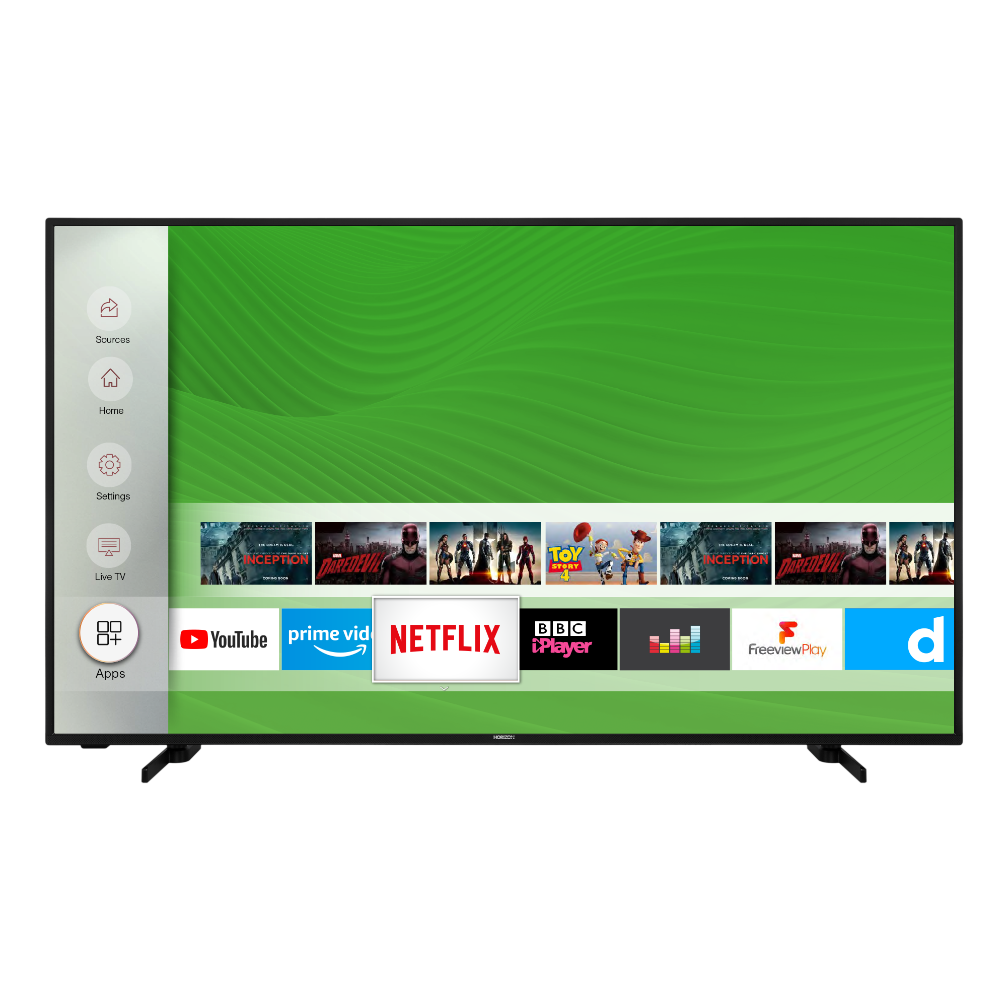 Televizor Horizon 55HL7530U, 139 cm, Smart, 4K Ultra HD, LED