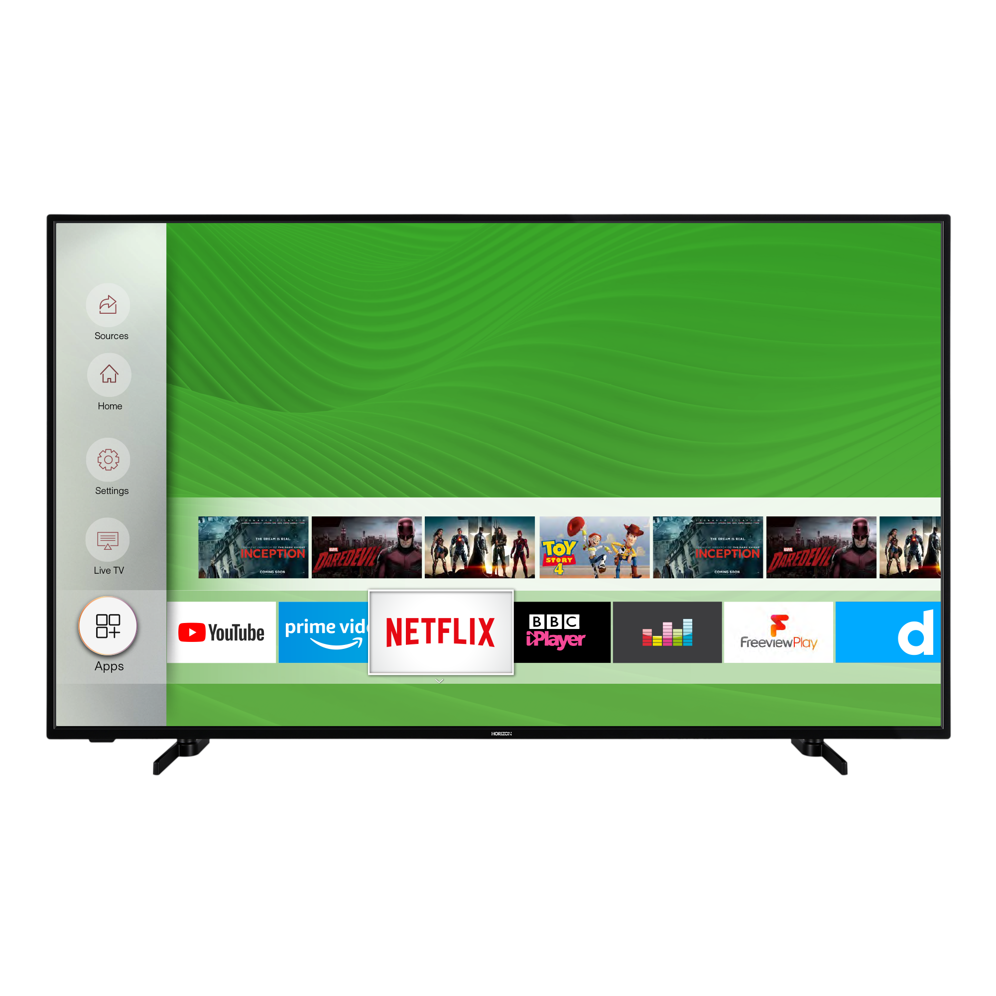 Televizor Horizon 58HL7530U, 146 cm, Smart, 4K Ultra HD, LED
