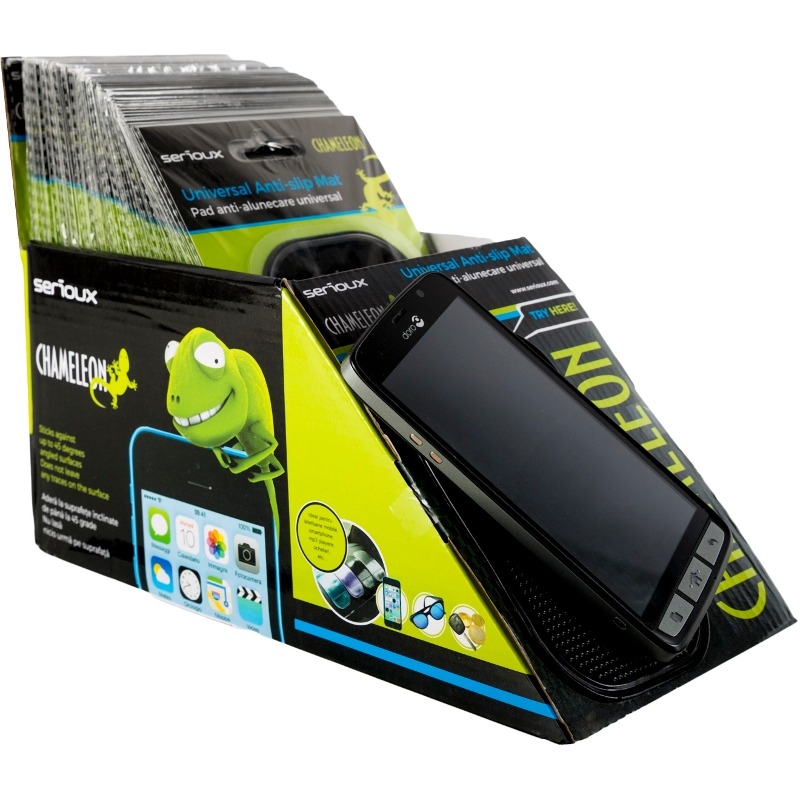 Suport GSM Serioux Auto, Chameleon, anti-slip, universal