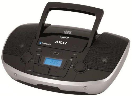 Microsistem audio Akai APRC-108, MP3 player, Radio FM, Bluetooth, USB