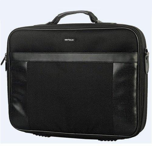 "Geanta Notebook Serioux SNC-EL156, 15.6"", Polyester, Black"