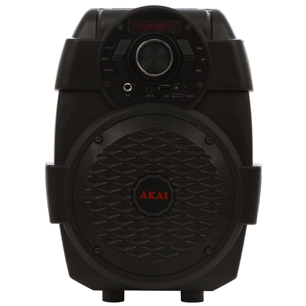 Boxa portabila activa Akai ABTS-806, 10 W RMS, Bluetooth, USB, jack 3.5 mm, negru