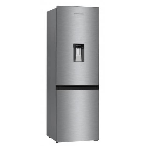 Combina frigorifica Heinner HC-H292XA+, 292 l, Frost Free, Water Dispenser, Clasa A+, H 185.5 cm, Inox