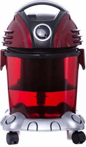 Aspirator cu filtrare prin apa Samus Aquafilter, putere absorbtie 234 W, functie suflare aer, Rosu