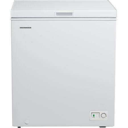 Lada frigorifica Heinner HCF-145HA+, 145 l, Clasa A+, Control mecanic, Alb
