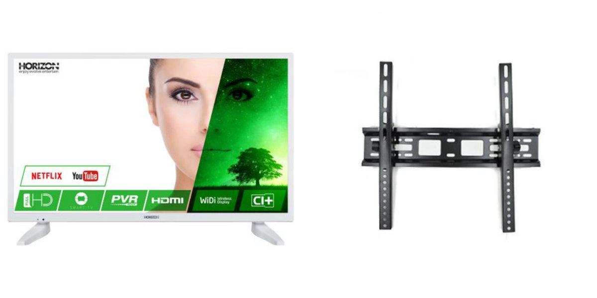 """Pachet Televizor LED Smart Horizon, 109 cm, 43HL7331F, Full HD si Suport TV A033-4, Reglabil, HT-002, 32-55"""""""