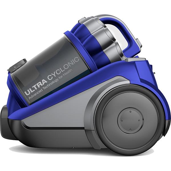 Aspirator fara sac Daewoo RCC-250L/3A, 3 l, 800 W, albastru