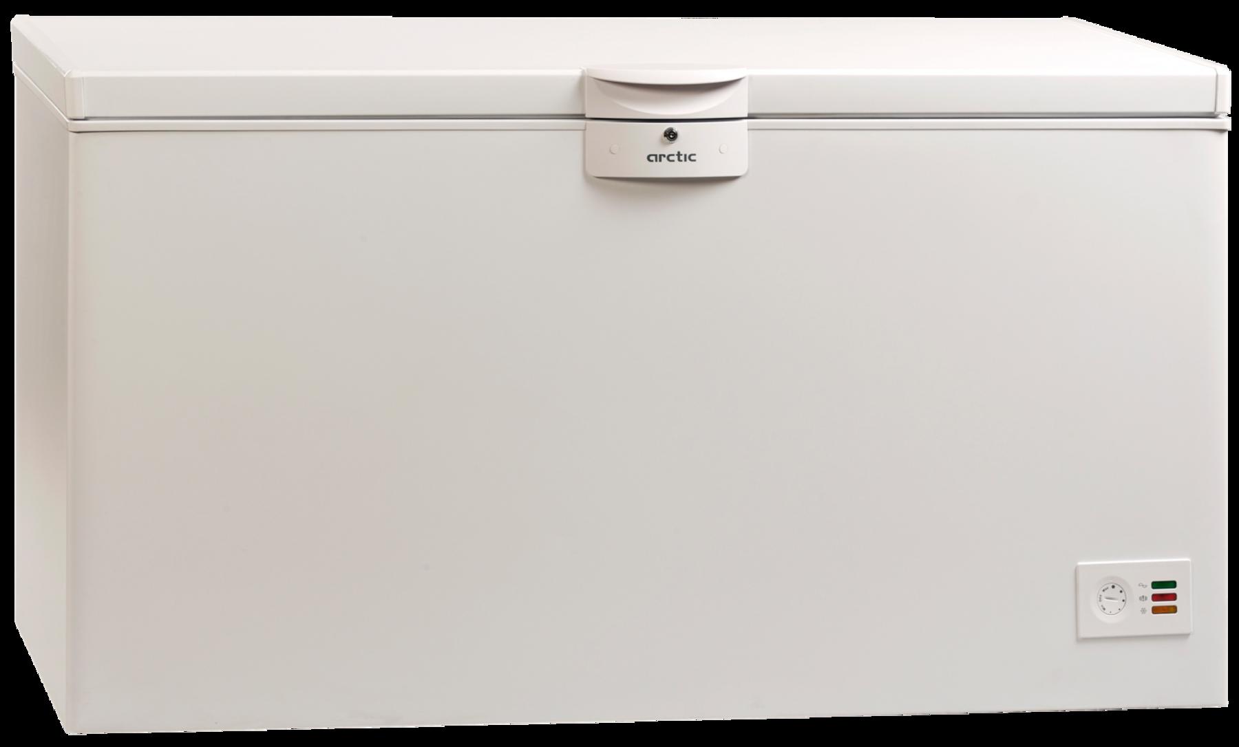 Lada frigorifica Arctic O47+, 451 l, Clasa A+, Indicatori LED, Yala, 3 cosuri, L 155 cm, Alb