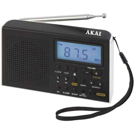 Radio portabil cu ceas AKAI AWBR-305