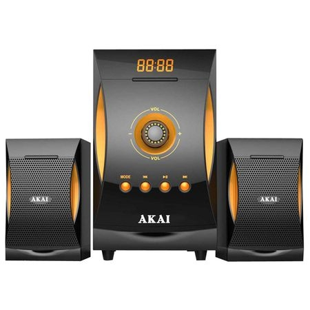 Sistem audio Akai SS032A-3515, 2.1, bluetooth, negru