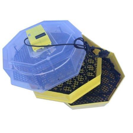 Incubator oua, etajat cu dispozitiv de intoarcere oua si termometru CLEO 5x2DT