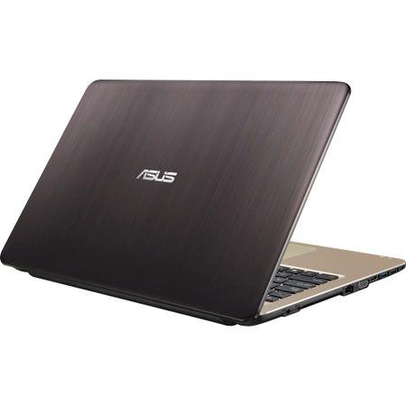 "Laptop ASUS X540NA-GO034 cu procesor Intel® Celeron® N3350 pana la 2.40 GHz, 15.6"", 4GB, 500GB, Intel HD Graphics, Endless OS, Chocolate Black"
