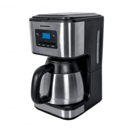 Cafetiera Heinner Digitala HCM-900XMC, 900W, 1L, cana termos, Lcd, Timer, Inox