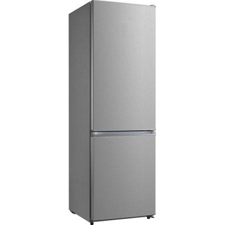 Combina frigorifica Heinner HCNF-M295XA+, 295 l, Clasa A+, Full No Frost, Display interior, Control electronic, H 188 cm, Inox