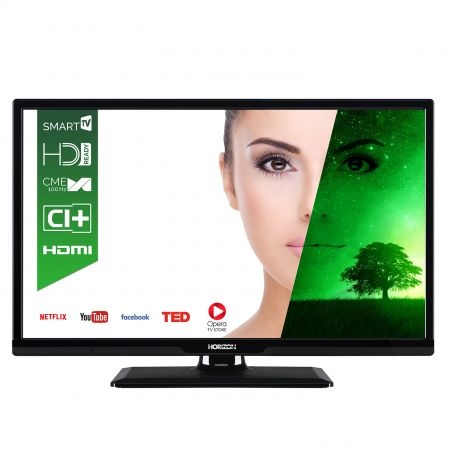 Televizor LED Smart Horizon, 61 cm, 24HL7110H, HD