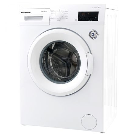 Masina de spalat rufe Heinner HWM–V7012A++, 7KG, 1200 RPM, Clasa A++, Ecran digital, Functie start intarziat, Sistem Eco Logic, Program Allergy Safe, 60 cm, Alb