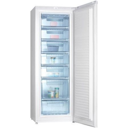 Congelator Samus SCE331A+, 212 l, 7 sertare, Clasa A+, Control electronic, 3 Ani garantie, Alb