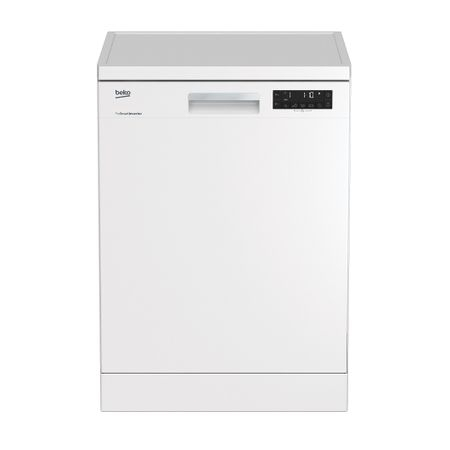 Masina de spalat vase Beko DFN26420W, 14 seturi, 6 programe, Clasa A++, Motor ProSmart Inverter, Display LCD, TrayWash, Alb