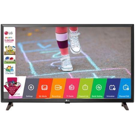 Televizor LED LG 32LK510BPLD, 80 cm, Rezolutie HD, Game TV, Slot CI +, Negru
