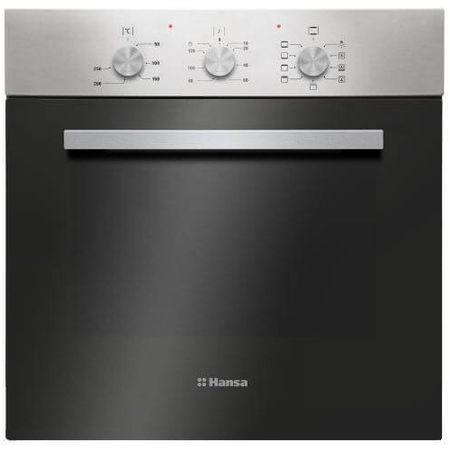 Cuptor incorporabil Hansa Fine Design BOEI68161, programator, 8 functii, grill, ventilator, 62 L, clasa A, inox