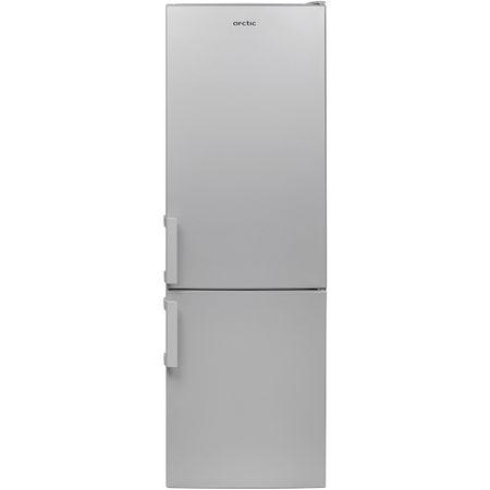 Combina frigorifica Arctic AK54270+, 262 l, Clasa A+, Garden Fresh, H 170.5 cm, Argintiu