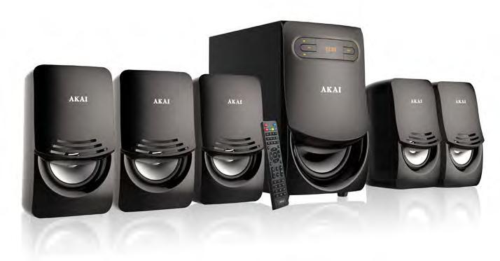 Sistem Boxe Active AKAI 5.1 USB/SD CARD SS021A-5289F