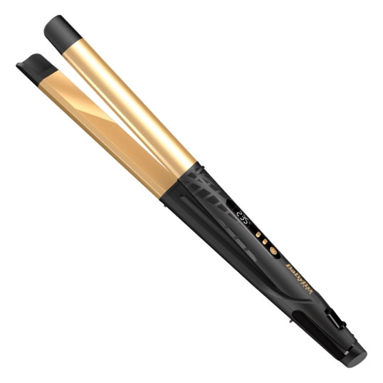 Placa de par 2 in 1 Straight or Curl Creative Gold 24 mm ST440E BaByliss