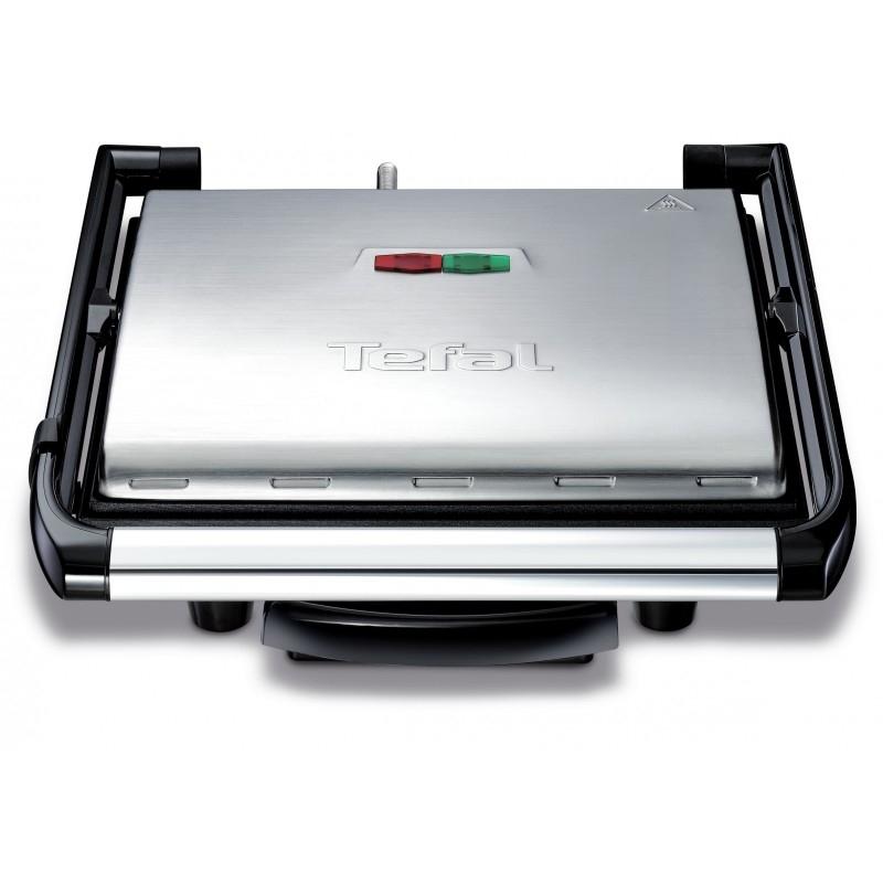 Grill electric TEFAL GC241D12, 2000W, argintiu-negru