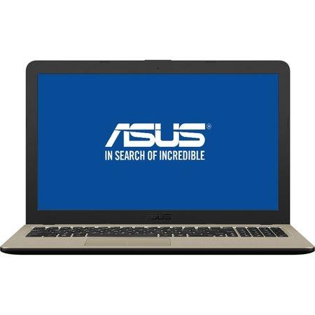 "Laptop ASUS X540MA-GO207 cu procesor Intel® Celeron® N4000 pana la 2.60 GHz, 15.6"", 4GB, 500GB, Intel® UHD Graphics 600, Endless OS, Chocolate Black"