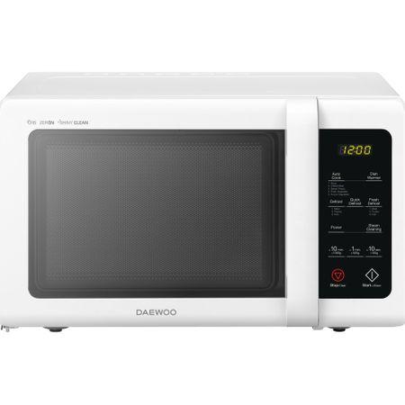 Cuptor cu microunde Daewoo KOR-91RBW, 25 l, 900 W, Digital, Afisaj electronic, Zero&On, SteamCleaning, Alb